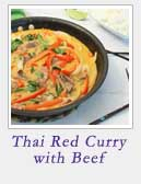 Thai Red Curry with Beef | 2 Cookin Mamas