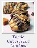 Turtle Cheesecake Cookies | 2CookinMamas