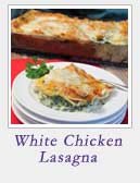White Chicken Lasagna | 2 Cookin Mamas