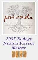 2007 Bodega Norton Privada Malbec