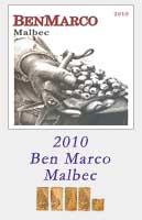 2010 Ben Marco Malbec