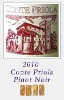 2010 Conte Priola Pinot Noir