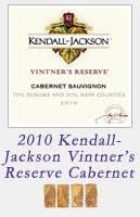 2010 Kendall Jackson Vintners Reserve Cabernet