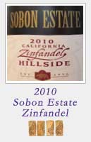 2010 Sobon Estate Zinfandel Hillside