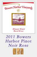 2011 Bowers Harbor Vineyards Pinot Noir Rose