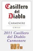 2011 Casillero del Diablo Carmenere