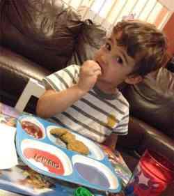 Kids love chicken nuggets