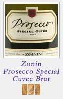 Zonin Prosecco Special Cuvee Brut