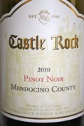 2010 Castle Rock Pinot Noir