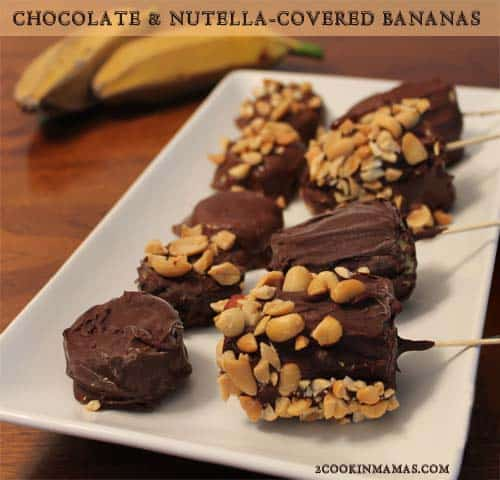 Chocolate Covered Bananas   2CookinMamas