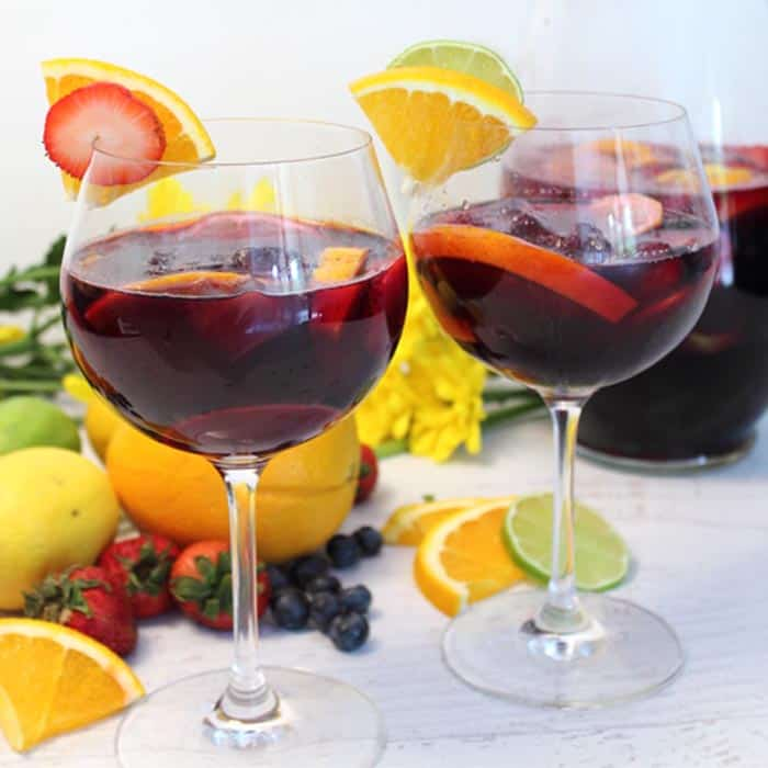Easy Sangria - Only 3 Ingredients