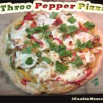 Go Meatless with Three Pepper Pizza