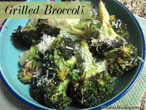 Grilled Broccoli | 2CookinMamas