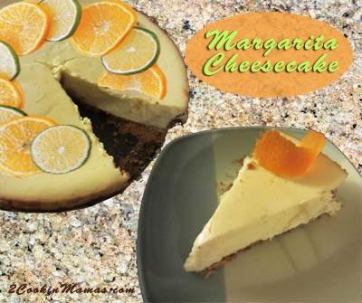 Margarita Cheesecake | 2CookinMamas