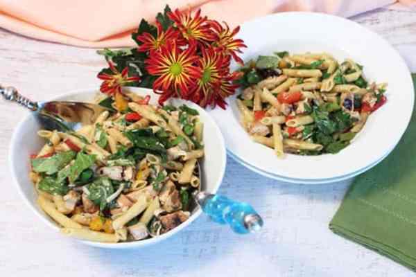 Balsamic Chicken and Pasta Salad 1   2 Cookin Mamas