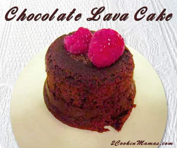 Chocolate Lava Cake | 2CookinMamas