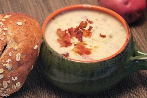 Baked Potato Soup 1| 2CookinMamas