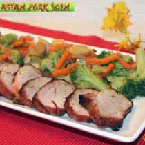 Grilled Asian Pork Loin | 2CookinMamas