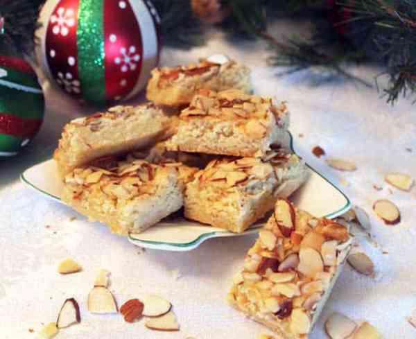 Almond Bar Cookies 2 | 2 Cookin Mamas