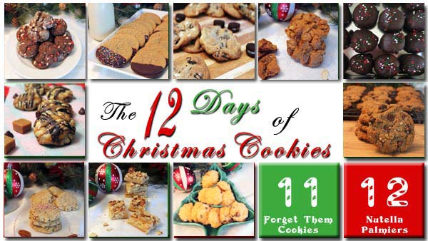 The 12 Days of Christmas Cookies Day 10 | 2CookinMamas