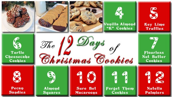 The 12 Days of Christmas Cookies Day 3 | 2CookinMamas
