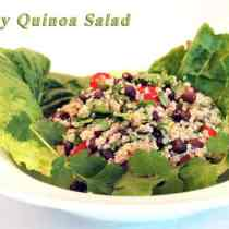 Hearty Quinoa Salad|2CookinMamas