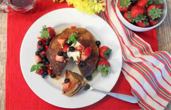 Protein Pancakes 2 | 2 Cookin Mamas