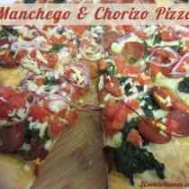 Manchego and Chorizo Pizza | 2CookinMamas