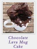 Chocolate Lava Mug Cake | 2 Cookin Mamas