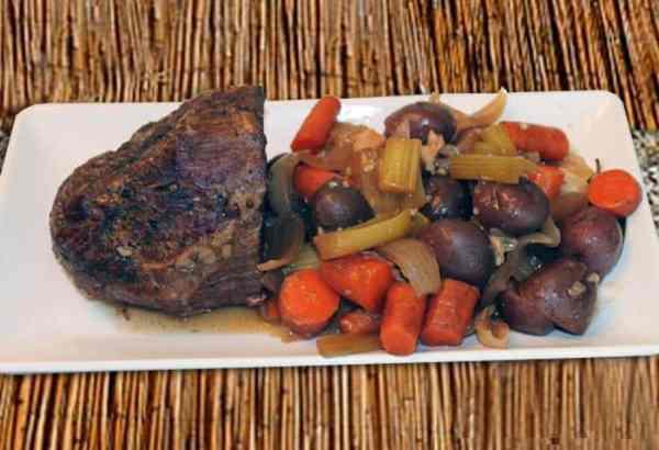 Crockpot Pot Roast 1 | 2 Cookin Mamas