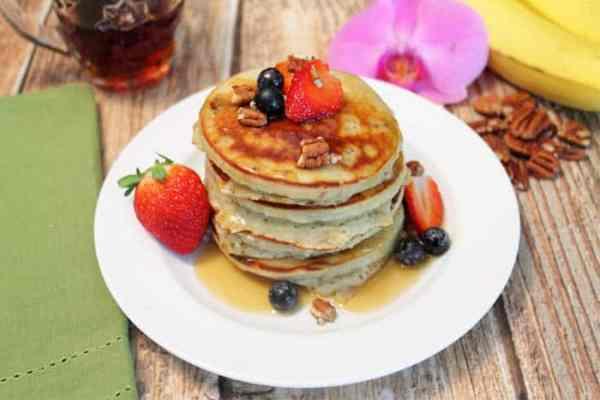 Banana Pancakes 1 | 2 Cookin Mamas