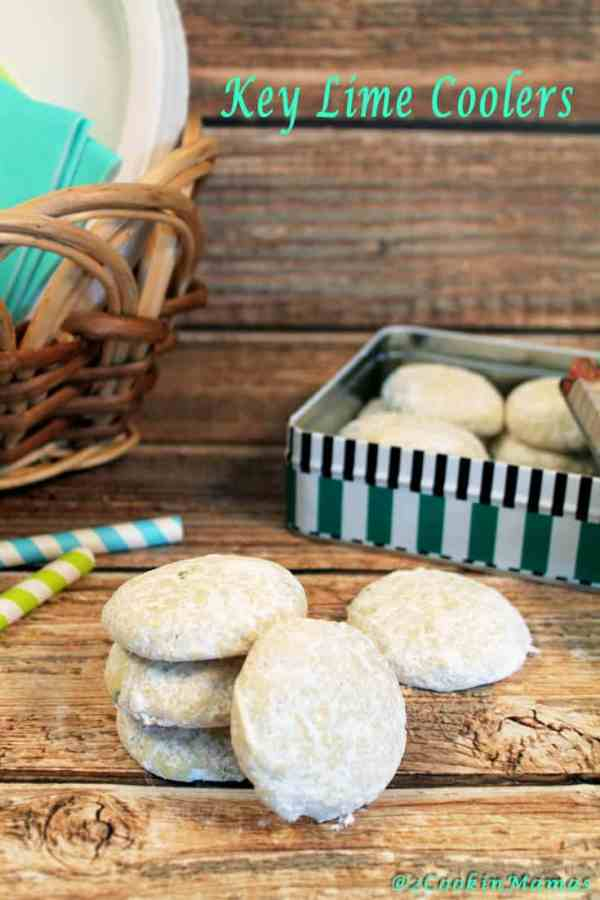 Key Lime Coolers picnic time | 2CookinMamas
