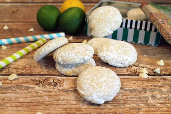Key Lime Coolers spilling from tin|2CookinMamas