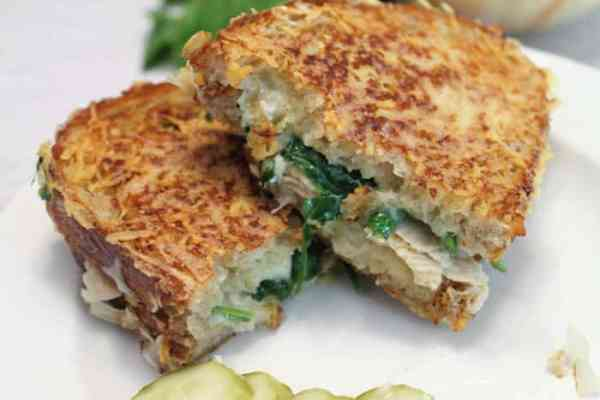 Tuna Melt closeup | 2 Cookin Mamas