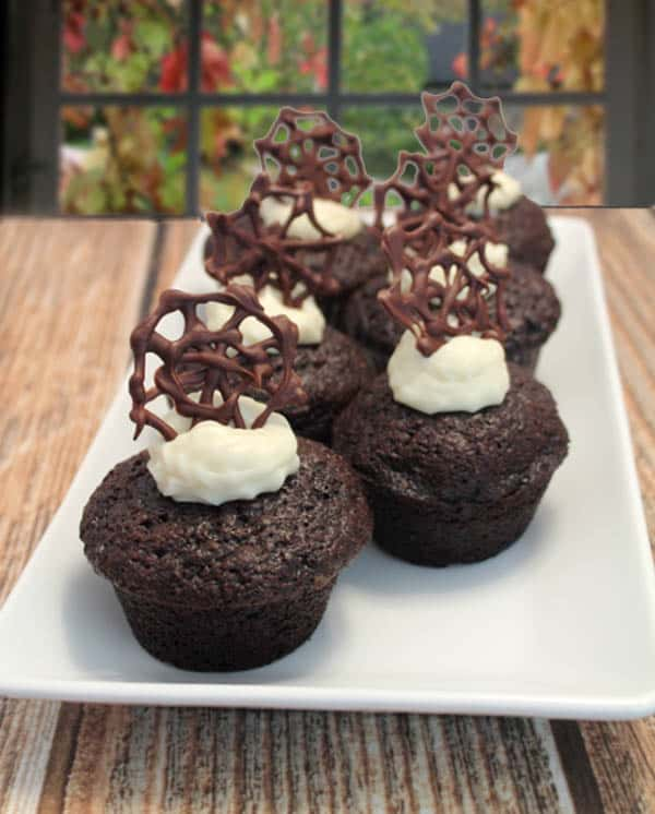 Chocolate Carrot Cake Cupcakes 1 - 2CookinMamas
