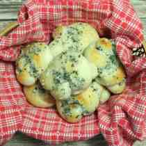 Parmesan Knots square