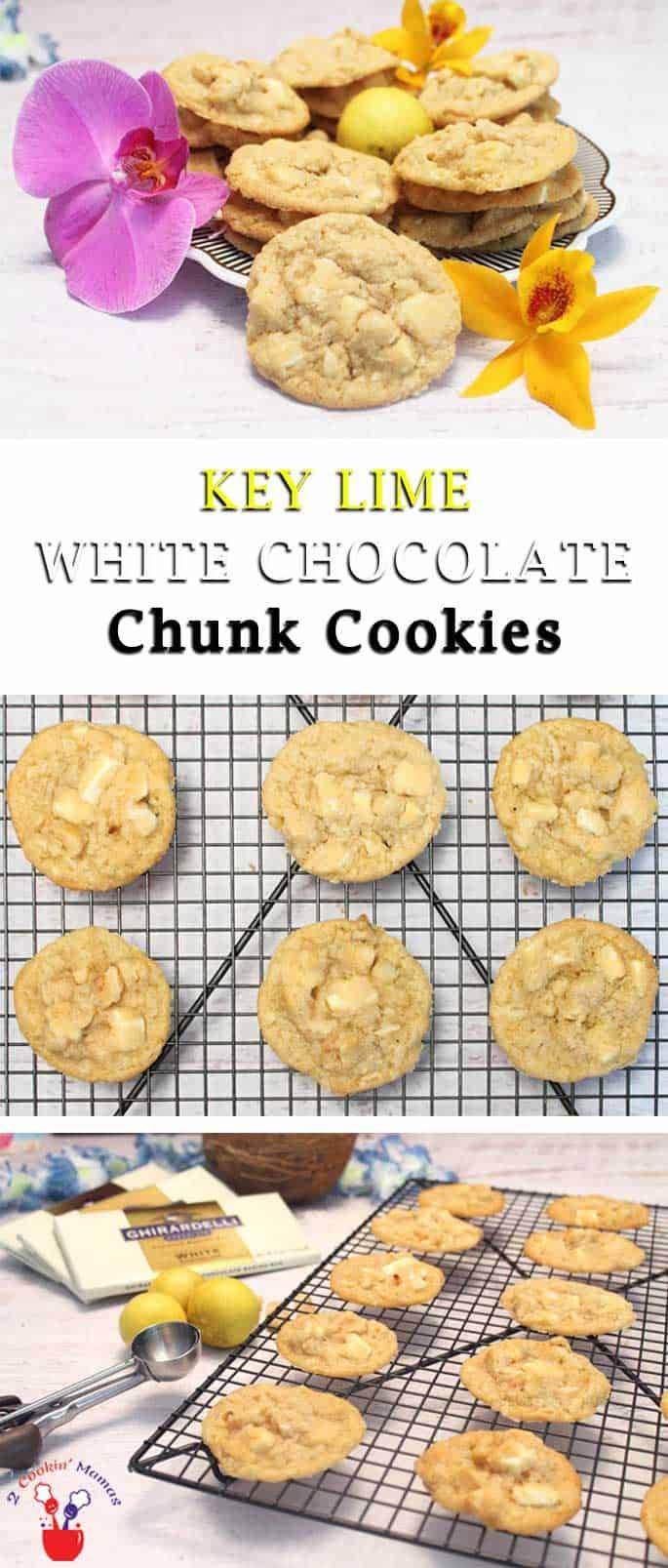 Key lime cookies recipes white chocolate