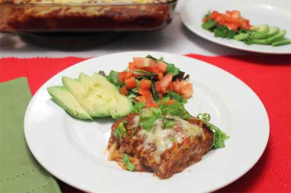 Turkey Enchilada Casserole 670|2CookinMamas