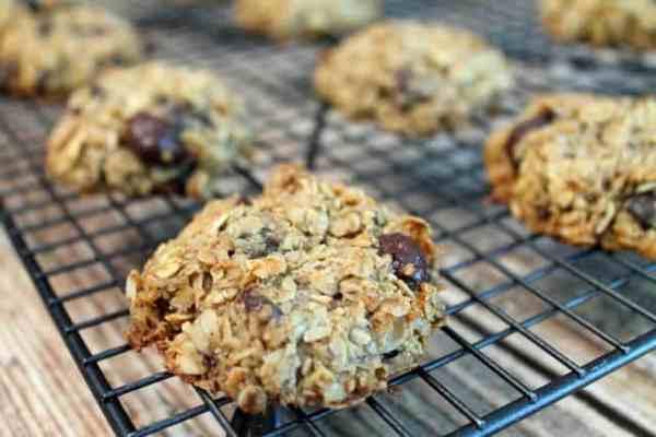 Crunchy Granola Breakfast Cookies baked|2CookinMamas
