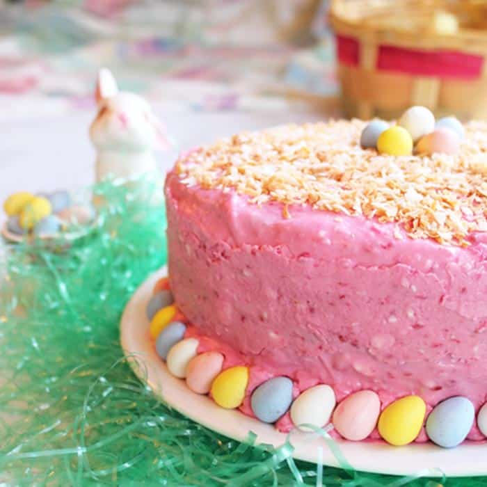 Key Lime Cake - Springtime Pastels