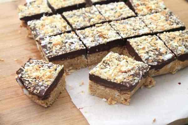 No Bake Almond Joy Bars 1 | 2 Cookin Mamas