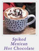 Spiked Mexican Hot Chocolate | 2 Cookin Mamas
