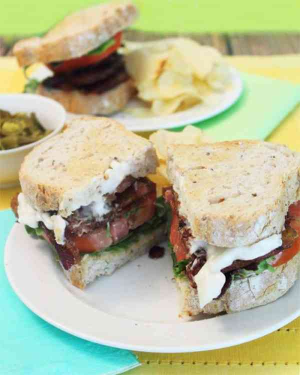 Kicked Up BLT Sandwich 8 | 2 Cookin Mamas