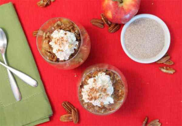 Apple Pecan Chia Pudding 2 | 2 Cookin Mamas