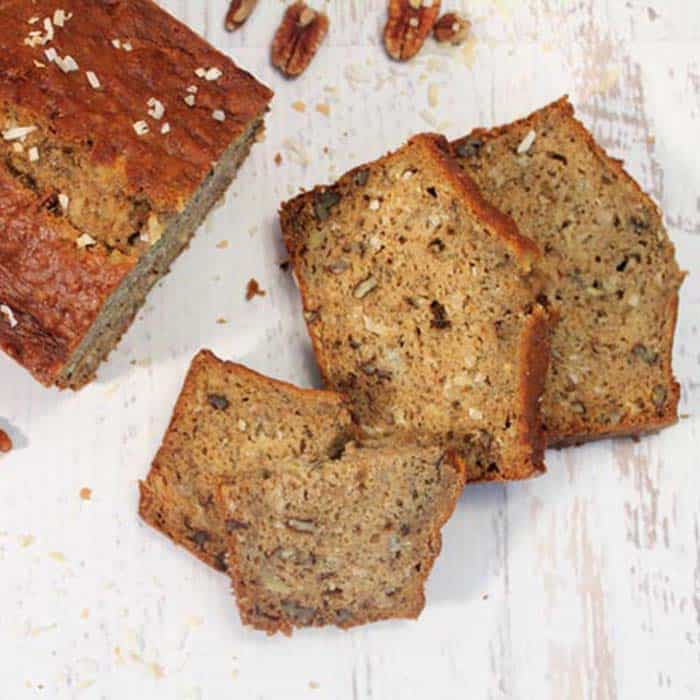 Easy Banana Bread - Homemade Quick Bread