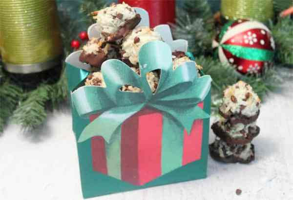 Chocolate Chip Macaroons gift | 2 Cookin Mamas