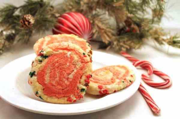 Peppermint Pinwheel Cookies 2 | 2 Cookin Mamas
