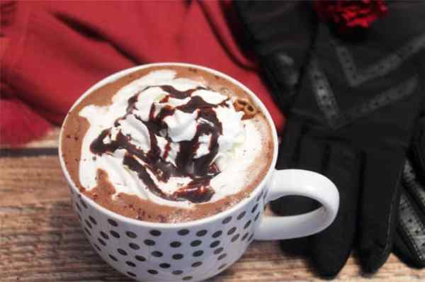 Spiked Mexican Hot Chocolate closeup | 2 Cookin Mamas
