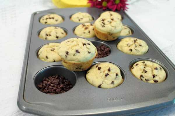 Banana Pancake Muffins 2 | 2 Cookin Mamas