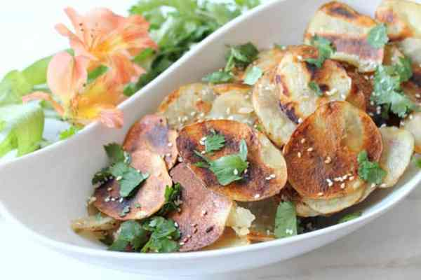 Asian Grilled Potato Chips 3 | 2 Cookin Mamas